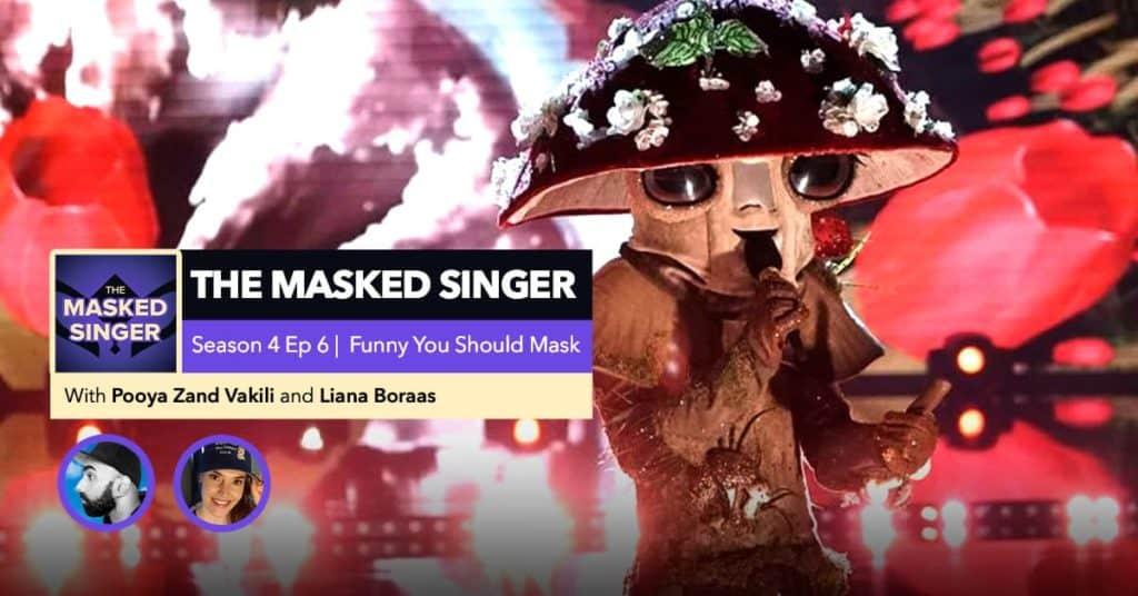 The Masked Singer   Season 4, Episode 6 RHAPup