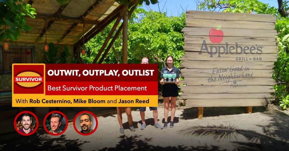 Survivor | Outwit, Outplay, Outlist | Best Survivor Product Placements