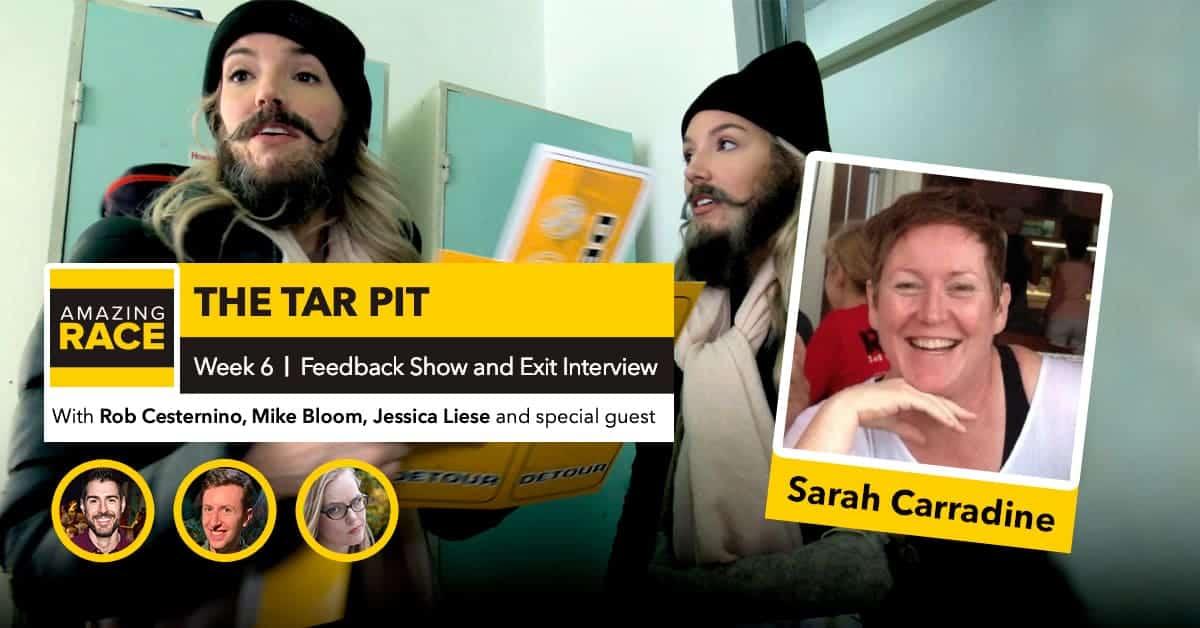 Amazing Race 32 | The TARpit Week 6 | Sarah Carradine