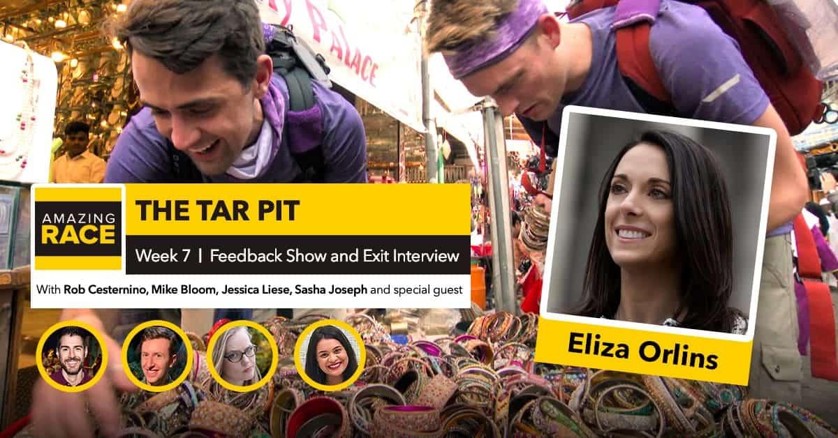 Amazing Race 32 | The TARpit Week 7 | Eliza Orlins & Sasha Joseph