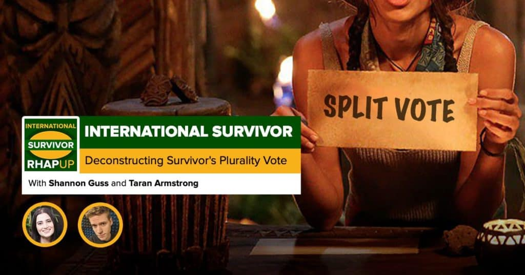 International Survivor | Deconstructing Survivor's Plurality Vote