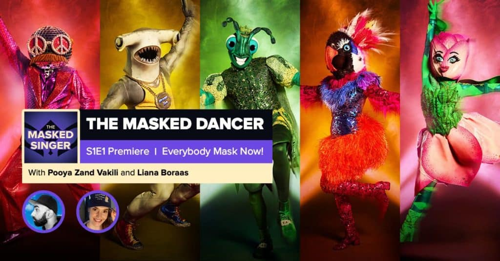 The Masked Dancer | Season 1 Premiere RHAPup