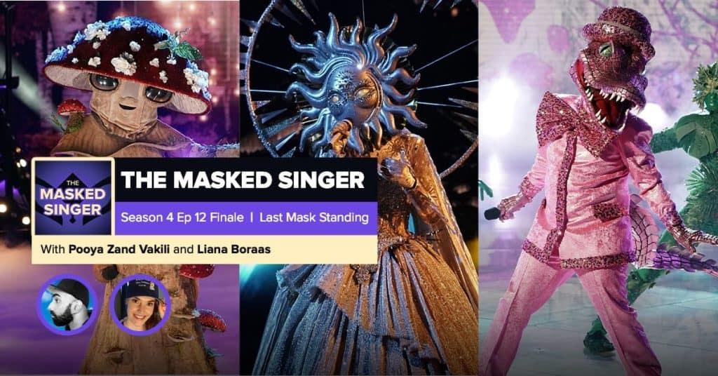 The Masked Singer | Season 4, Episode 12 FINALE RHAPup
