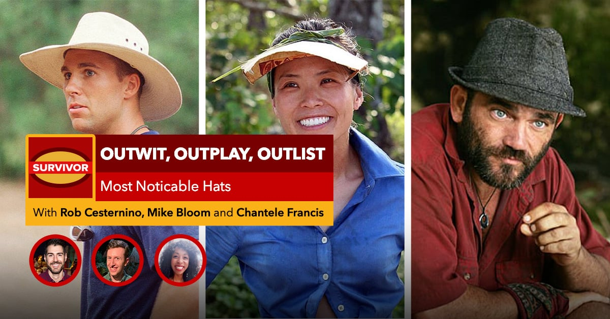 Survivor | Outwit, Outplay, OutLIST | Most Noticeable Hats