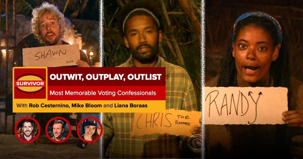 Survivor | Outwit, Outplay, OutLIST | Most Memorable Voting Confessionals
