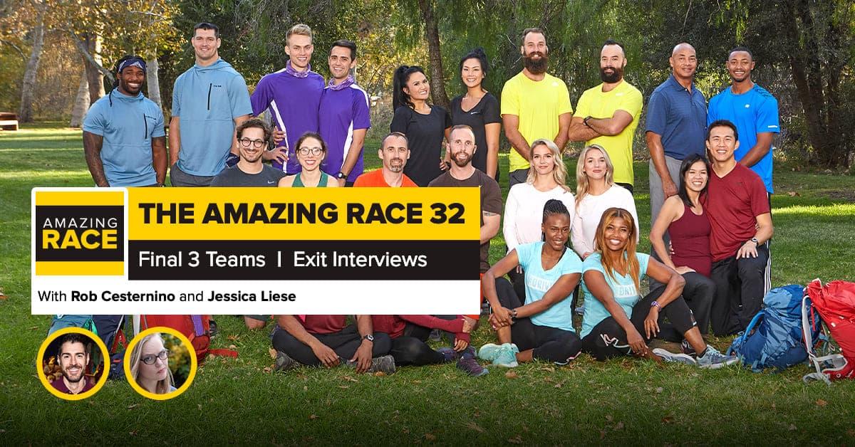 Amazing Race 32 | Final 3 Exit Interviews