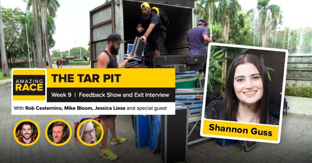 Amazing Race 32 | The TARpit Week 9 | Shannon Guss