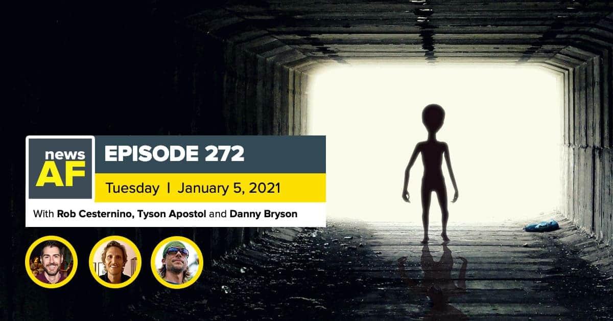 News AF | 2017 Alien Visits are News AF - January 5, 2020