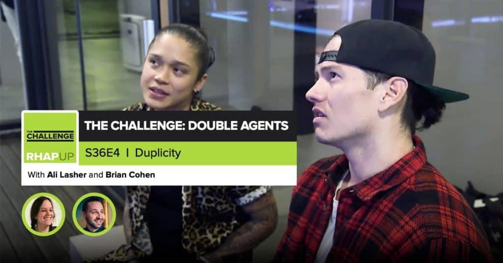 MTV The Challenge RHAPup | Double Agents Episode 4 Recap