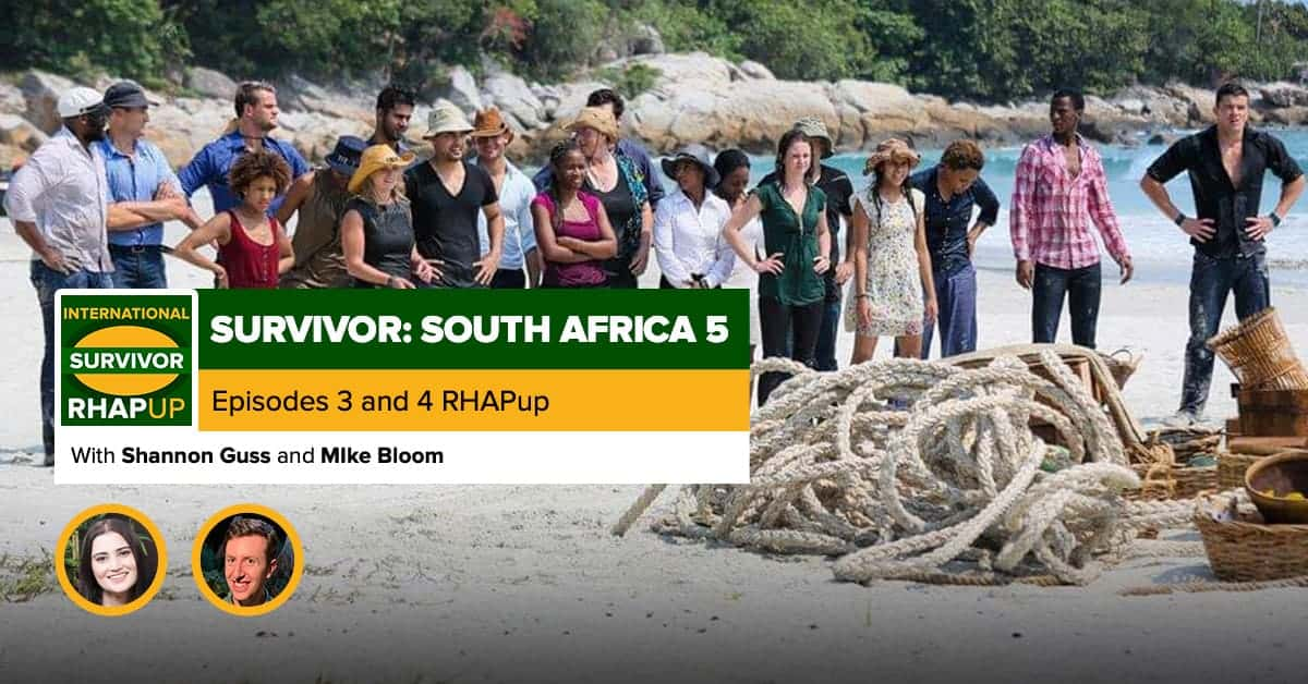 Survivor South Africa: Champions | Episodes 3 and 4 RHAPup