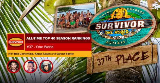 Survivor All-Time Top 40 Rankings   #37: One World