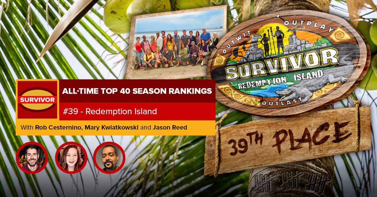Survivor All-Time Top 40 Rankings | #39: Redemption Island