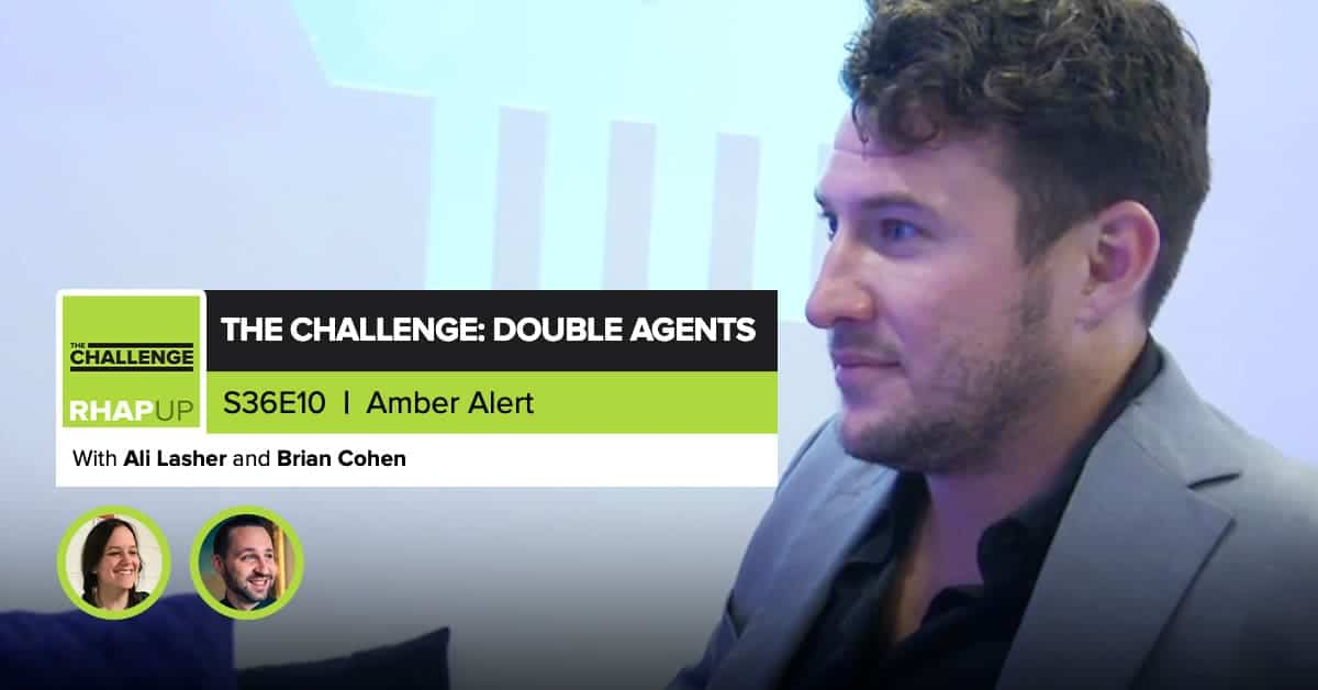 MTV The Challenge RHAPup | Double Agents Episode 10 RecapMTV The Challenge RHAPup | Double Agents Episode 10 Recap