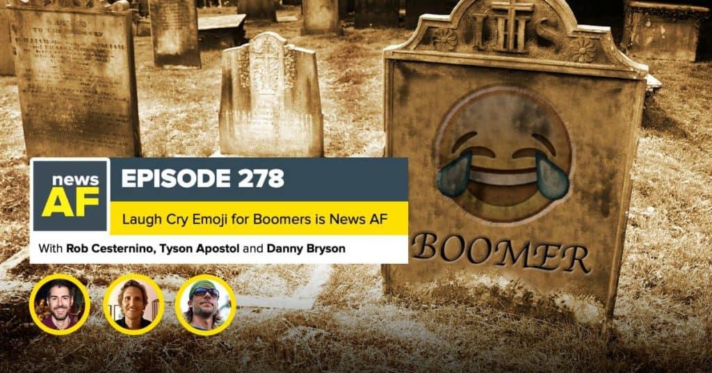 News AF | The Uncool Crying Emoji is News AF - February 16, 2021