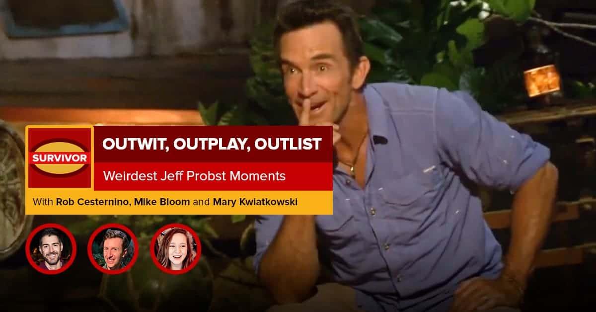 Survivor | Outwit, Outplay, OutLIST | Weirdest Jeff Probst Moments