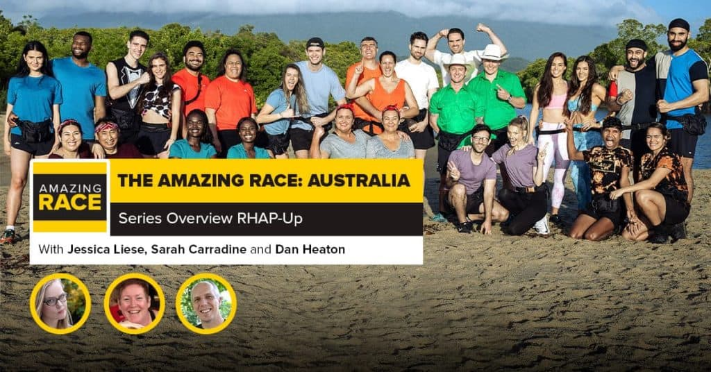 Amazing Race: Australia | Series Overview RHAP-Up