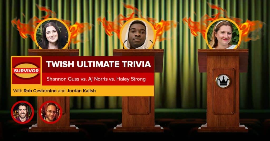 Survivor | TWISH Ultimate Trivia – Episode 2