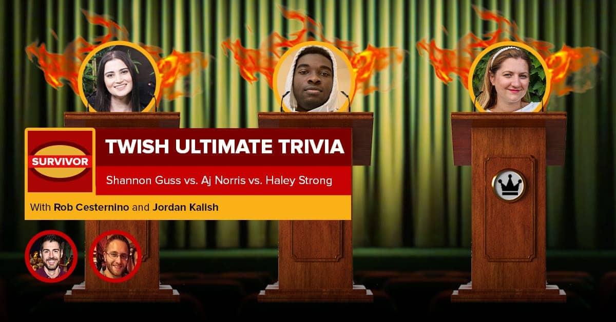Survivor | TWISH Ultimate Trivia – Episode 2