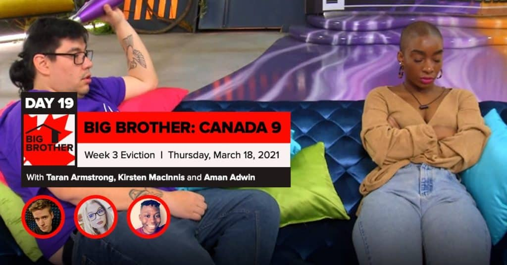 Big Brother Canada 9 | Episode 8 Recap Thursday 3/18 Eviction