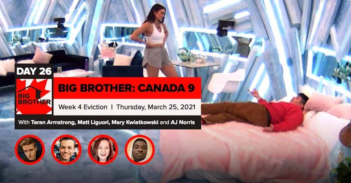 Big Brother Canada 9 | Episode 11 Recap Thursday 3/25 Eviction