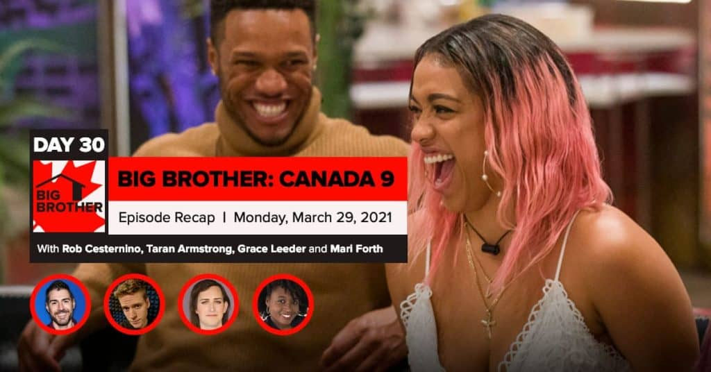 Big Brother Canada 9 | Episode 12 Recap Monday 3/29