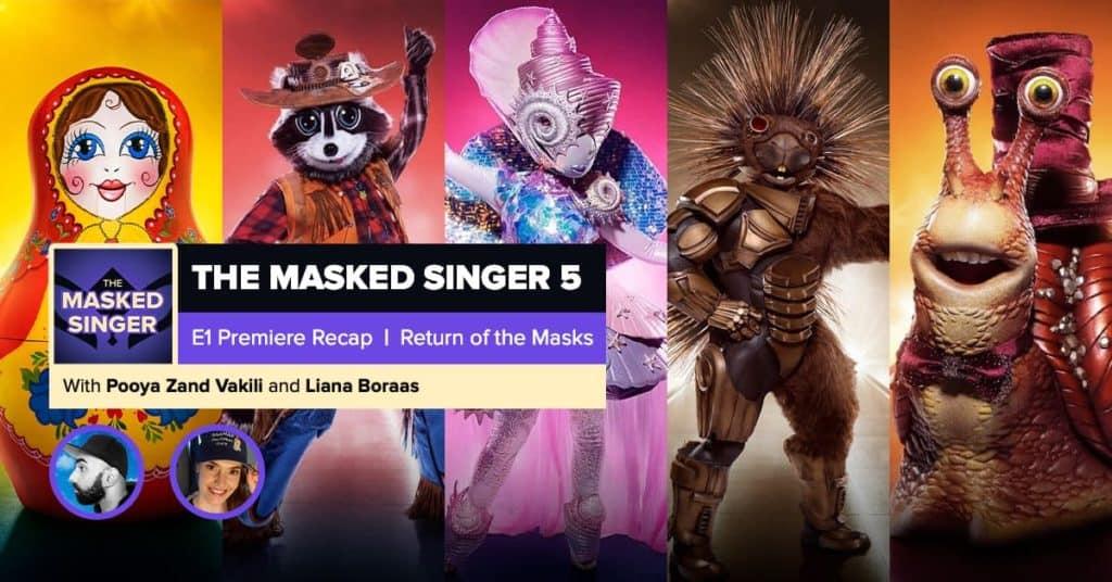 Masked Singer Season 5 : Icumubwynimgbm : The masked ...