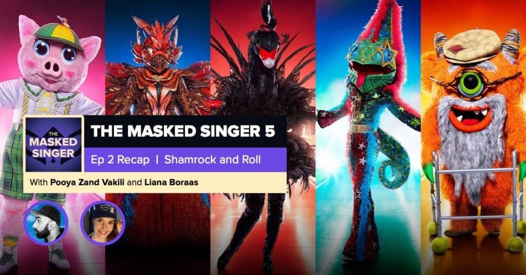 The Masked Singer | Season 5, Episode 2 RHAPup