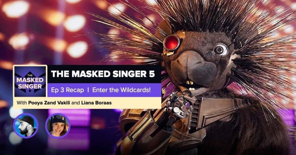 The Masked Singer | Season 5, Episode 3 RHAPup