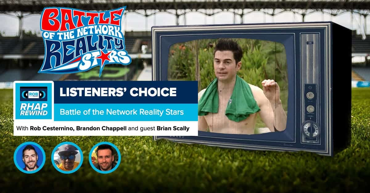 RHAP Rewind   Listeners' Choice   Battle of the Network Reality Stars