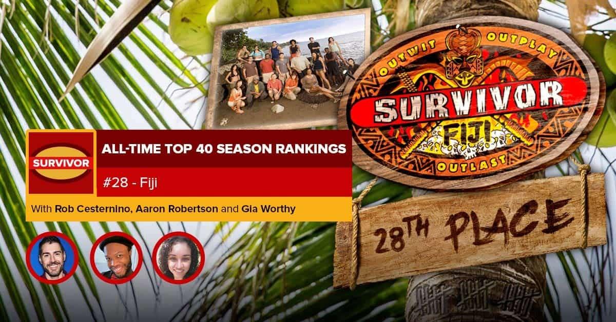 Survivor All-Time Top 40 Rankings | #28: Fiji