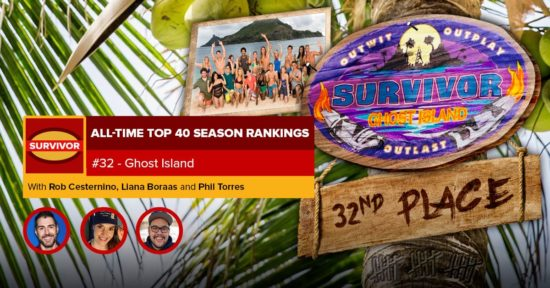 Survivor All-Time Top 40 Rankings   #32: Ghost Island