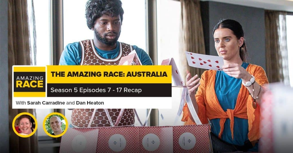 Amazing Race: Australia | Mid-Season RHAP-Up