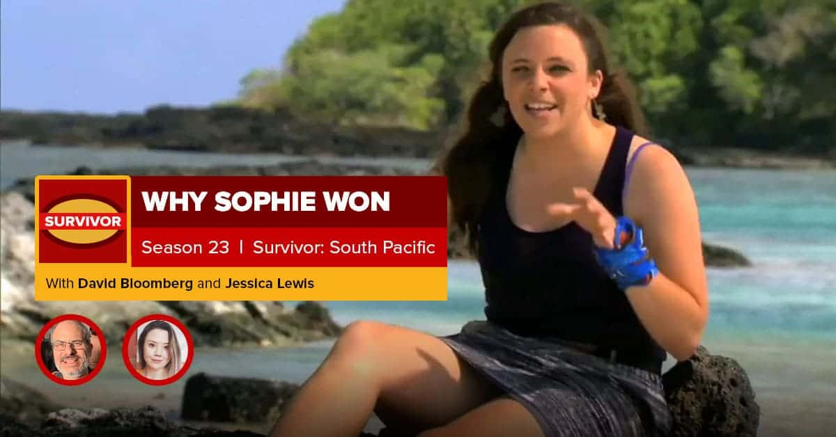 Survivor: South Pacific | Why Sophie Won | David Bloomberg & Jessica Lewis