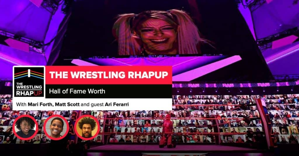 Wrestling RHAPup   Hall of Fame worthy