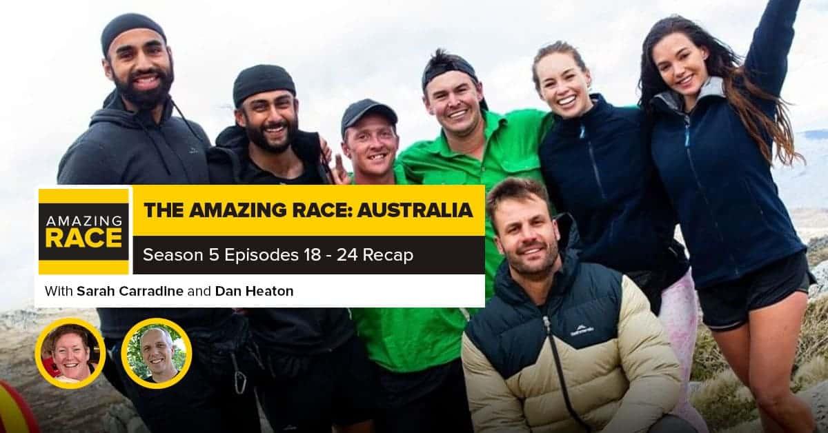 Amazing Race: Australia | Finale RHAPup