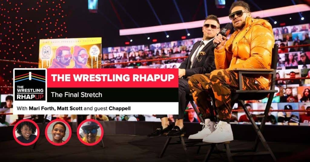 Wrestling RHAPup   The final stretch