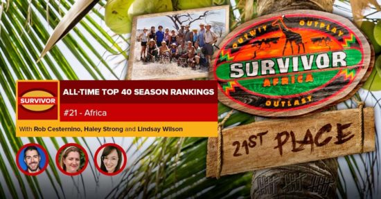 Survivor All-Time Top 40 Rankings   #21: Africa