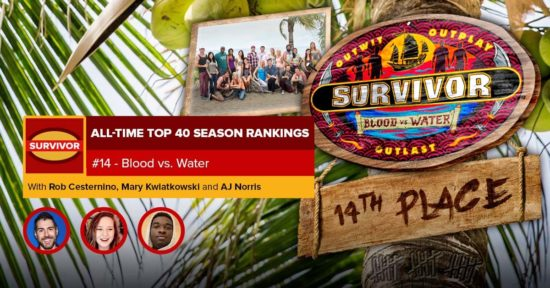 Survivor All-Time Top 40 Rankings   #14: Blood vs. Water