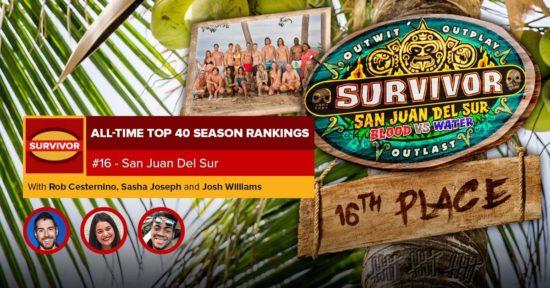Survivor All-Time Top 40 Rankings   #16: San Juan Del Sur