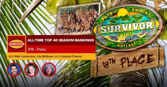Survivor All-Time Top 40 Rankings   #18: Palau