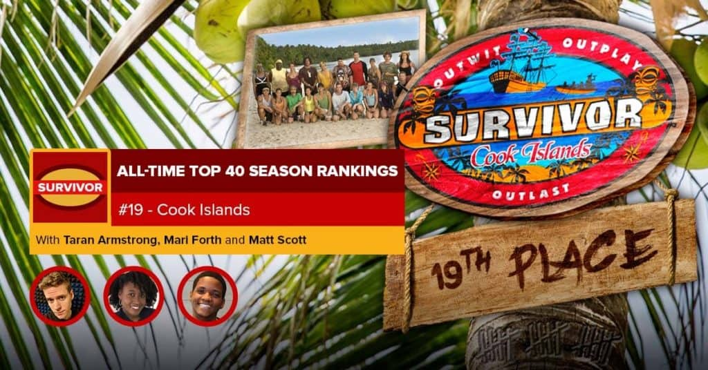 Survivor All-Time Top 40 Rankings | #19: Cook Islands