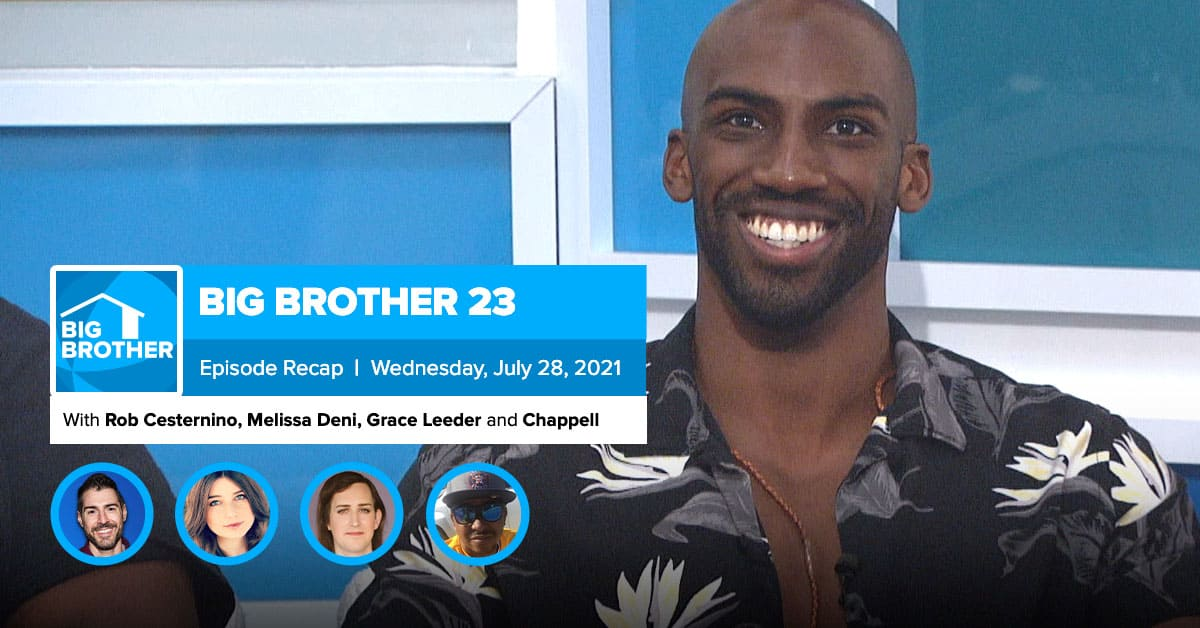Big Brother 23 | Wednesday Recap July 28 by Rob Has a ...