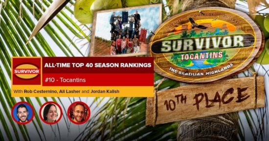 Survivor All-Time Top 40 Rankings   #10: Tocantins