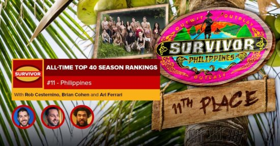 Survivor All-Time Top 40 Rankings   #11: Philippines