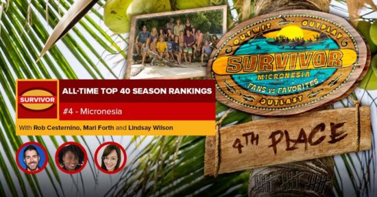 Survivor All-Time Top 40 Rankings   #4: Micronesia