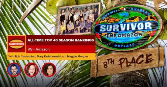 Survivor All-Time Top 40 Rankings   #8: Amazon