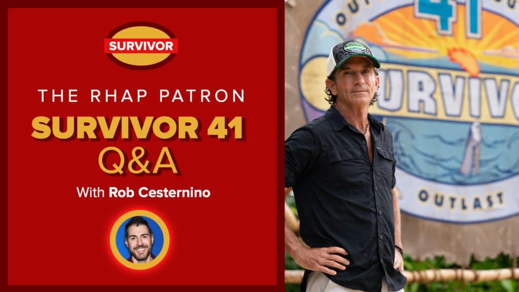 Patron Podcast UNLOCKED: Survivor 41 Premiere Q&A