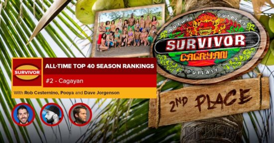 Survivor All-Time Top 40 Rankings   #2: Cagayan