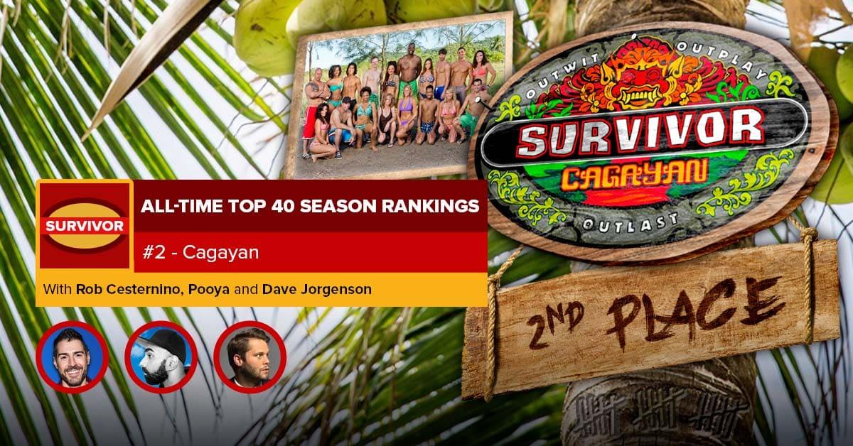 Survivor All-Time Top 40 Rankings | #2: Cagayan