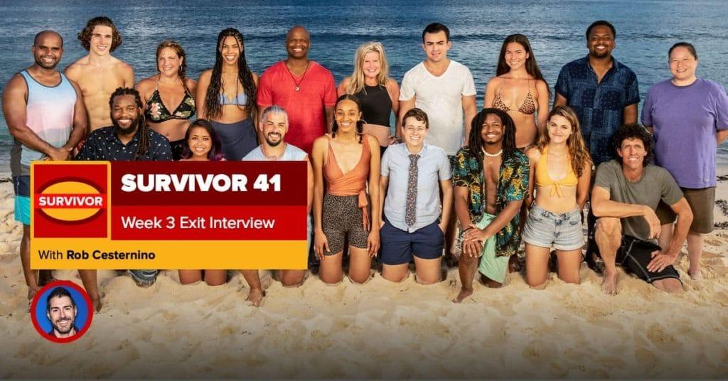Survivor 41 Episode 3 Exit Interview